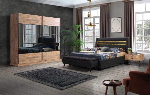 Mobila dormitor modern Arte elvila