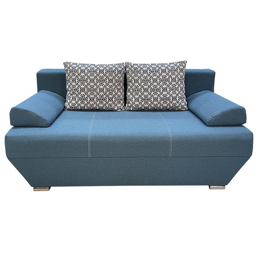 Canapea albastra Alma elvila